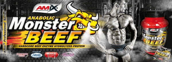 Anabolic Monster BEEF 90% Protein - Amix